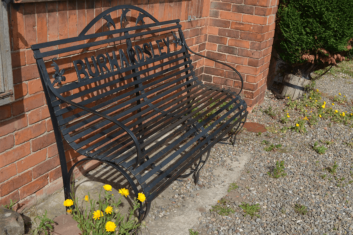 Burwardsley Village Hall Seat