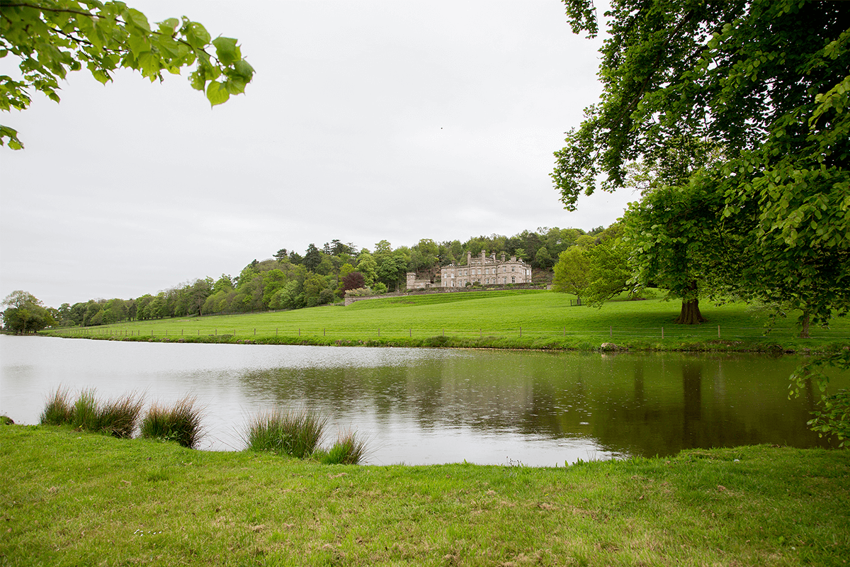 Bolesworth Castle from Lakeside