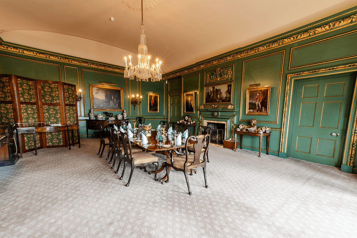 Bolesworth Castle internal dining room