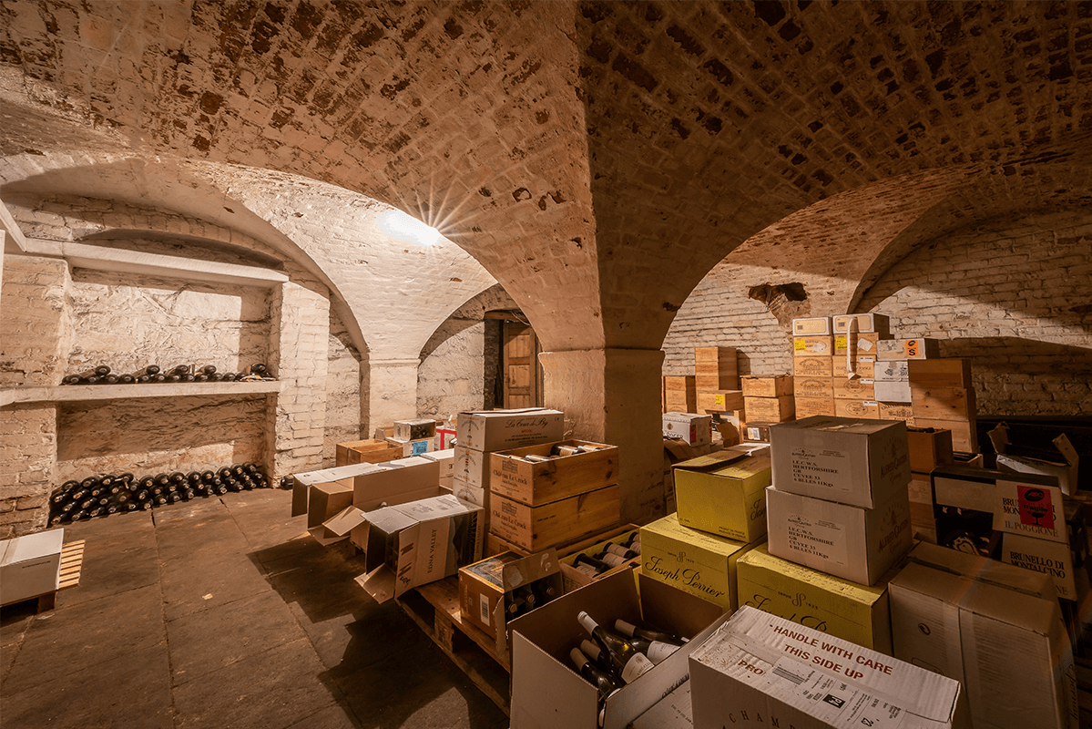 Bolesworth Castle Wine Cellar