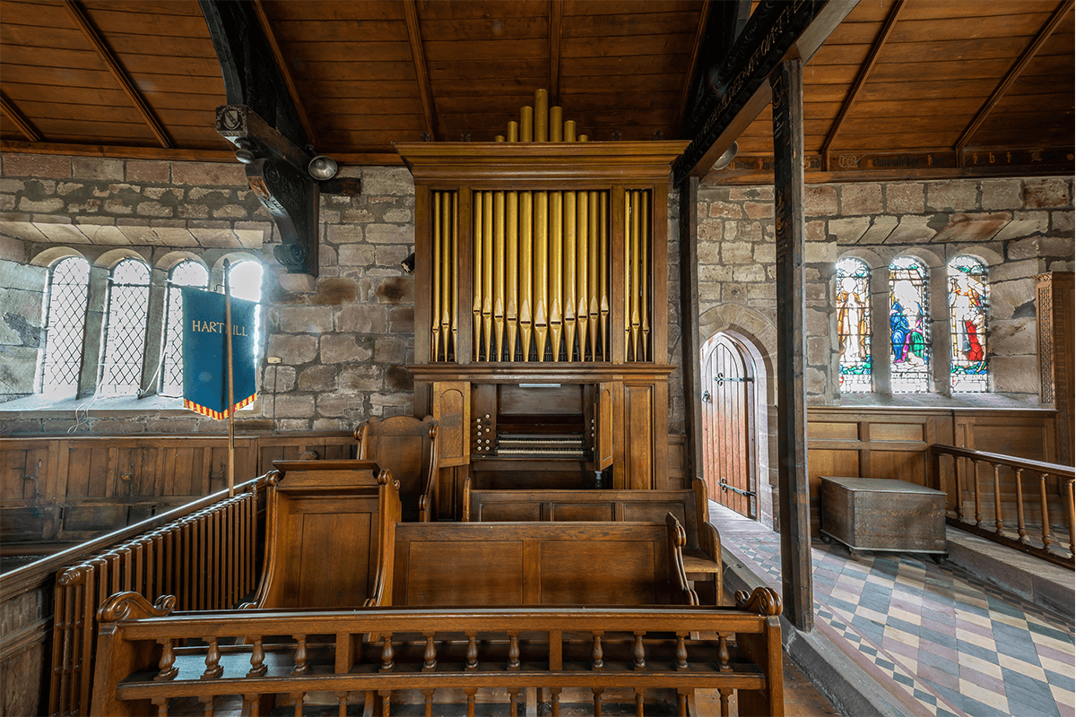 Harthill Church interior