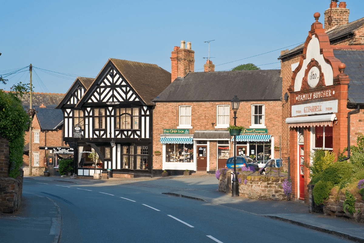 Tattenhall Village High Street