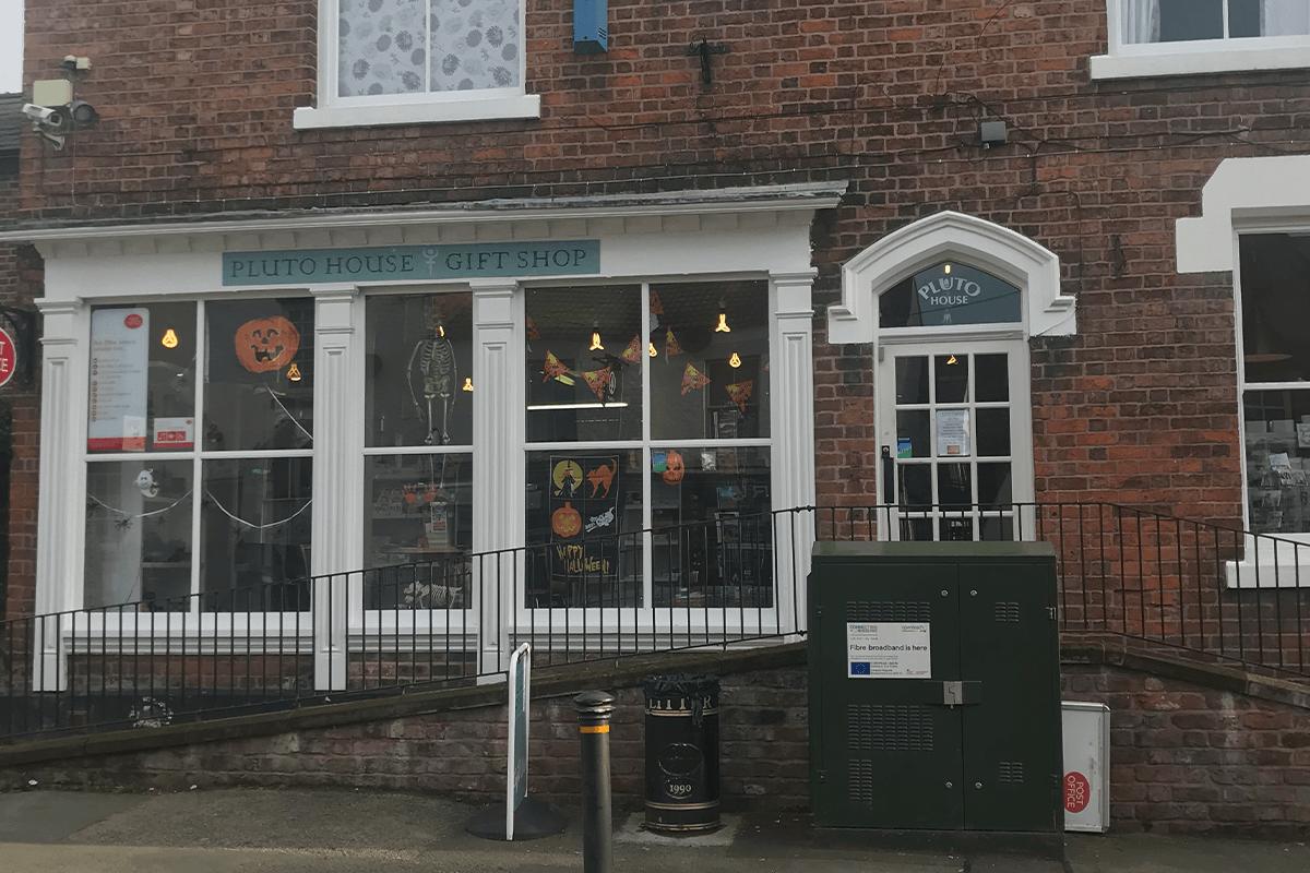 Pluto House Tattenhall Gift Shop